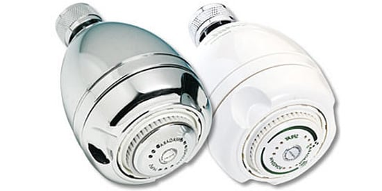 low flow shower heads