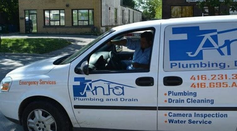 anta plumbing driving in the community